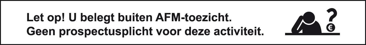Beleggen buiten AFM toezicht
